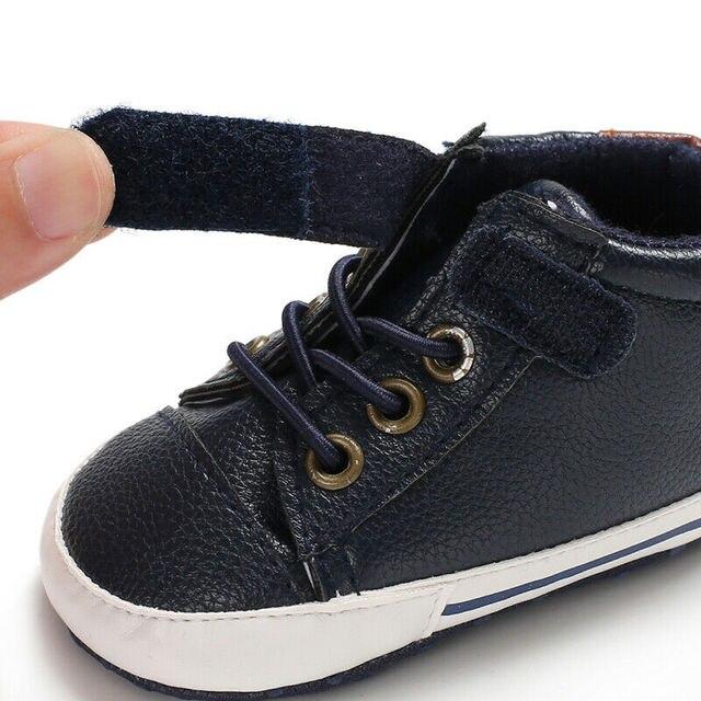 Bébé été vêtements nouveau-né bébé garçon fille semelle souple en cuir berceau chaussures solide casual crochet 0-18M enfant en bas âge chaussures Sport marcheurs