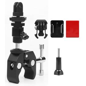 Image 5 - Silah balıkçılık çubuk yay ok sopa sabit klip tutucu GoPro Hero 7 6 5 4 3 SJCAM Eken eylem kamera