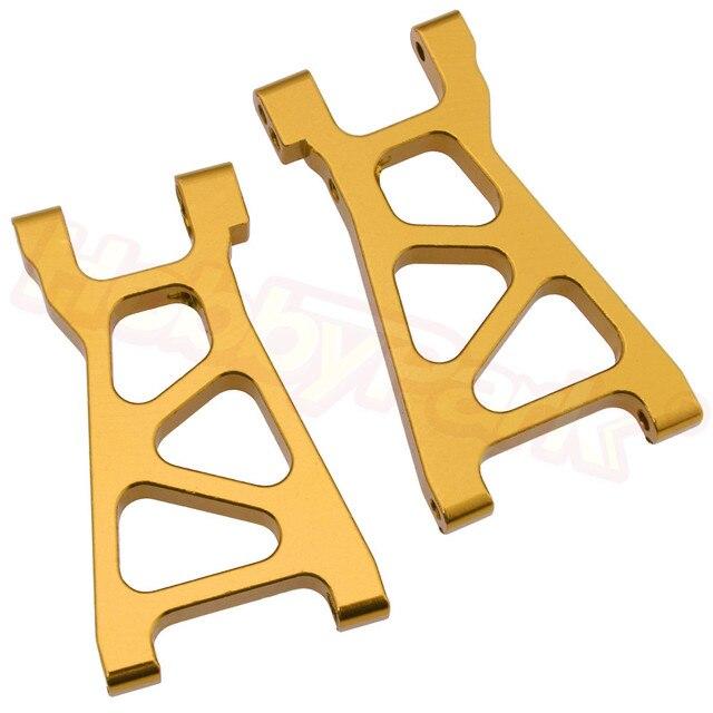 2 Pairs Himoto Spino 118 elektryczne E18XBL części zamienne M606 aluminium dolna Susp ramię 2 P 23606 Fit Mastadon jałowe Centro