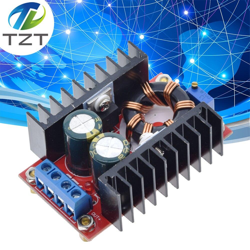Повышающий преобразователь постоянного тока в постоянный ток от 10-32 В до 12-35 в, модуль зарядного устройства с повышающим напряжением, 150 Вт
