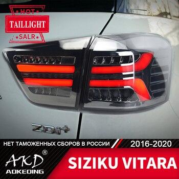 Tail Lamp For Car SUZUKI VITARA 2016-2020 Brezza LED Tail Lights Fog Lights Day Running Light DRL Tuning Cars Accessories