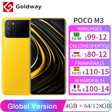 Versión Global POCO M3 4GB 64GB 128GB Snapdragon 662 Octa Core 6000mAh 48MP Triple Cámara 6,53