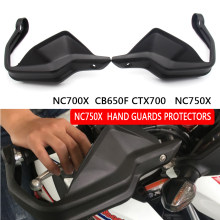 Protetor de mão para motocicleta, proteção de mão preta para embreagem e freio para honda nc700 x cb650f ctx700 nc750x 2014-2018