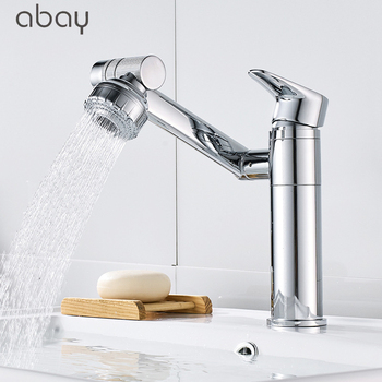 High Quality Bathroom faucet 360 degree rotation wash basin counter basin Hot and cold mixer water taps