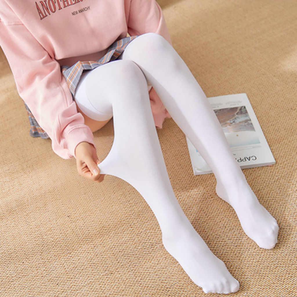 1 paar Mode Oberschenkel Hoch Über Knie Hohe Socken Mädchen Frauen Feste Sexy Socken Schwarz Weiß Hohe Qualität Strümpfe