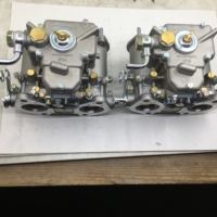 SherryBerg (2x) 40 Dcoe 151 carburador doble/carburador doble fajs 40mm 2x40 Dcoe para EMPI Weber carburador doble para Alfa Romeo BMW|Carburadores| |  -
