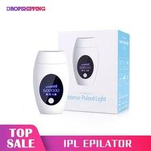 600000 Flash IPL Máy Tẩy Nhổ Lông Triệt Lông Depiladora Mặt Điện Photoepilator Không Đau Di Động Depilator Máy