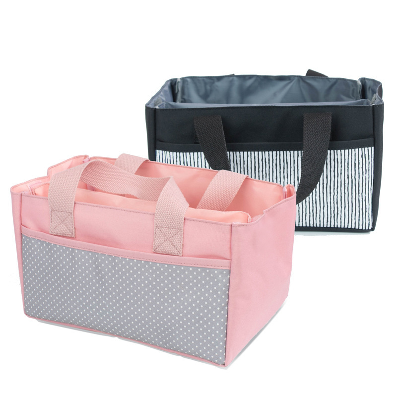 New Style Korean Style Infant Cart Bag Bedside Storage Bag Buggy Accessories Hand Layered Diaper Bag