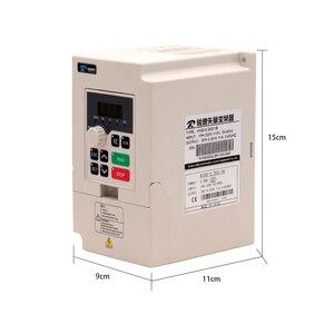 Image 3 - Darmowa wysyłka szybka wysyłka 1 zestaw 1.5kw VDF 110v/220v falownik + chłodzony powietrzem kwadratowy silnik wrzeciona CNC + 7 sztuk er11 tuleje dla CNC