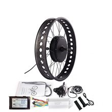 "36/48V Fat E-bike Conversion Kit for 20""/24""/26"" Snow Electric Bicycle with SW900 Display 250/350/500/750/1000/1500W Hub Motor(China)"