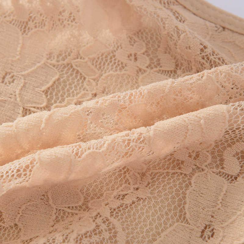 3 adet/grup Ultra yumuşak kadın seksi dantel külot Thongs G dizeleri dikişsiz iç çamaşırı kadın külot külot Bikini pamuk kasık p0038