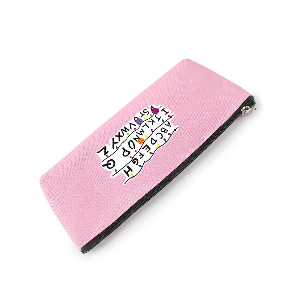 ストレンジャーもの Kpop プリントアクセサリー女性財布ジッパーカードガール財布や財布バッグのスタイリッシュなケース