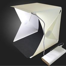 Портативный светильник, мини-софтбокс, светодиодный, для фотостудии, складной светильник, коробка для фотосъемки, фоновая фотография, палатка, комплект для dslr аксессуаров