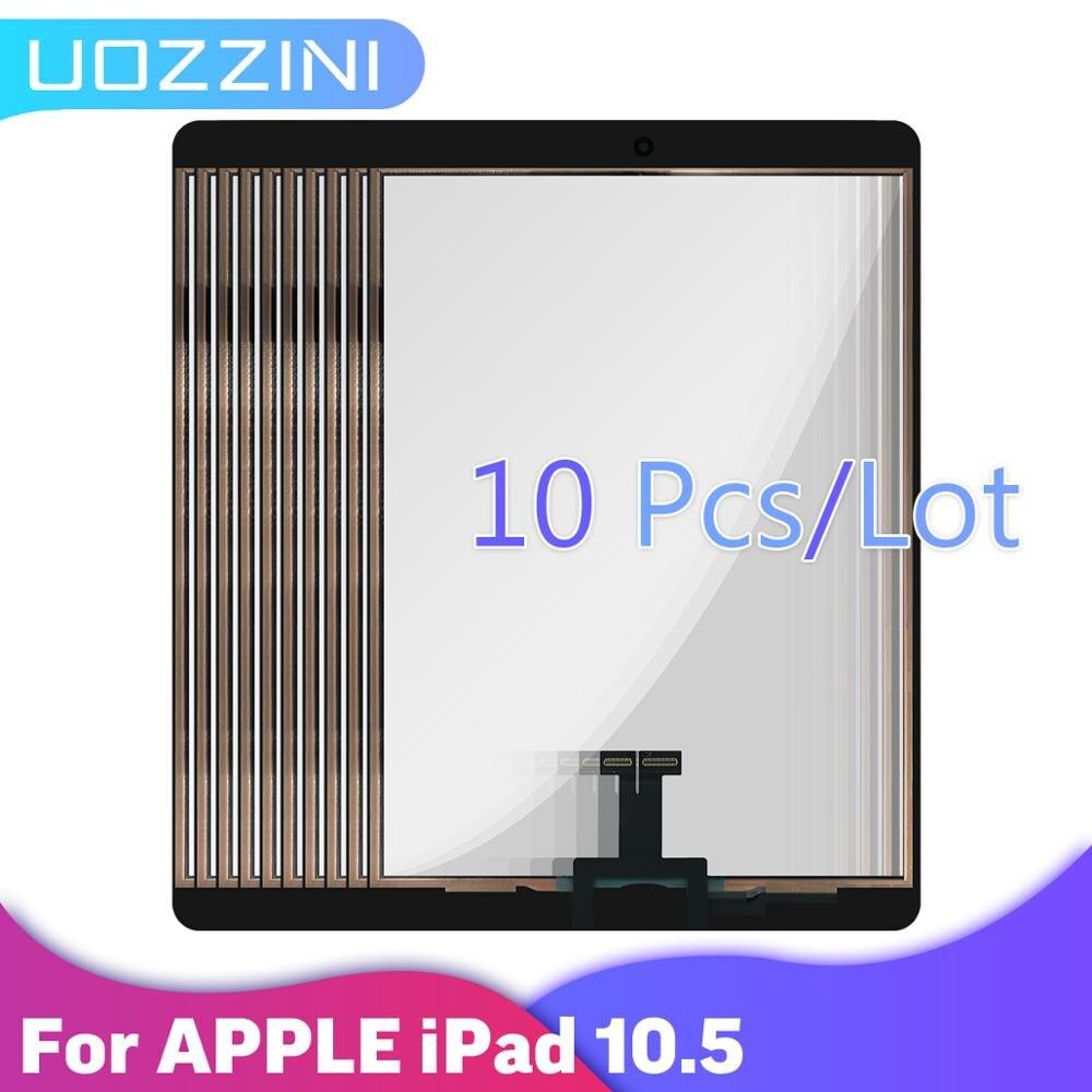 10 pçs para ipad pro 10.5 montagem do painel da tela de toque substituição para ipad pro 10.5 tablet painel toque vidro exterior 100% testado