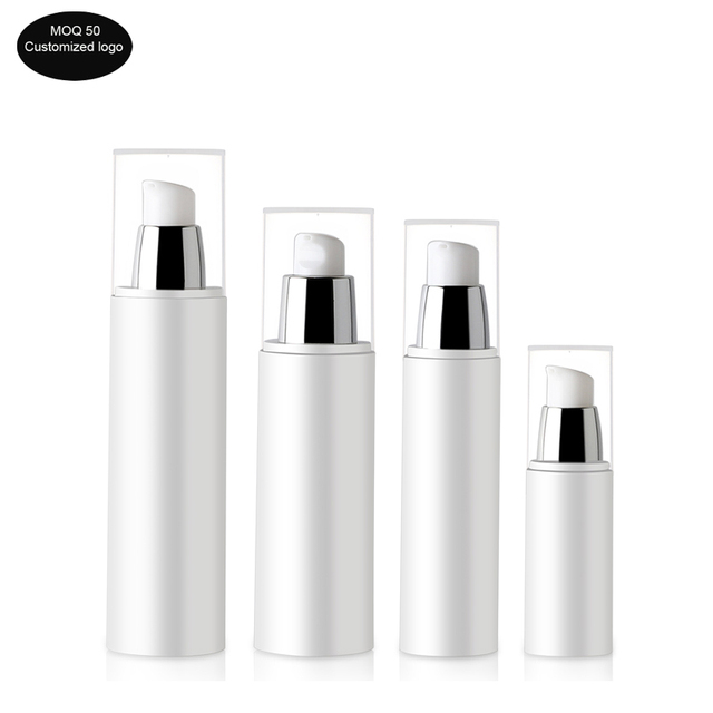 50pcs/lot 30ml 50ml 80ml 100ml PP Travel portable airless bottle vacuum pump bottle lotion bottle used for Cosmetic High grade