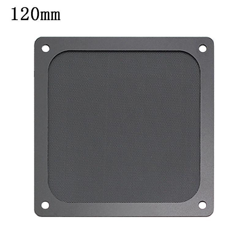 80-140MM Magnetic Dust Filter Dustproof Mesh Cover Net Guard For PC Computer Case Fan U1JA