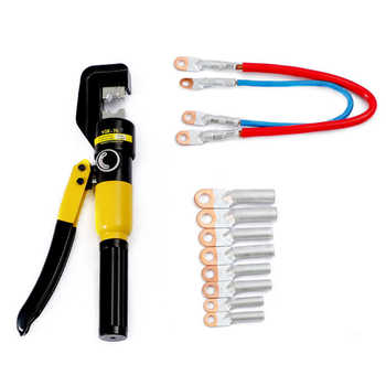Hydraulic Crimping Tool 4-70mm2 Cable Lug Crimper Plier Hydraulic Compression Tool YQK-70 Pressure 5-6T Cable Crimping Too