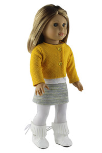 """Image 5 - Fashion Doll Clothes Set Toy Clothing Outfit for 18"""" American Doll Casual Clothes Many Style for Choice X108"""