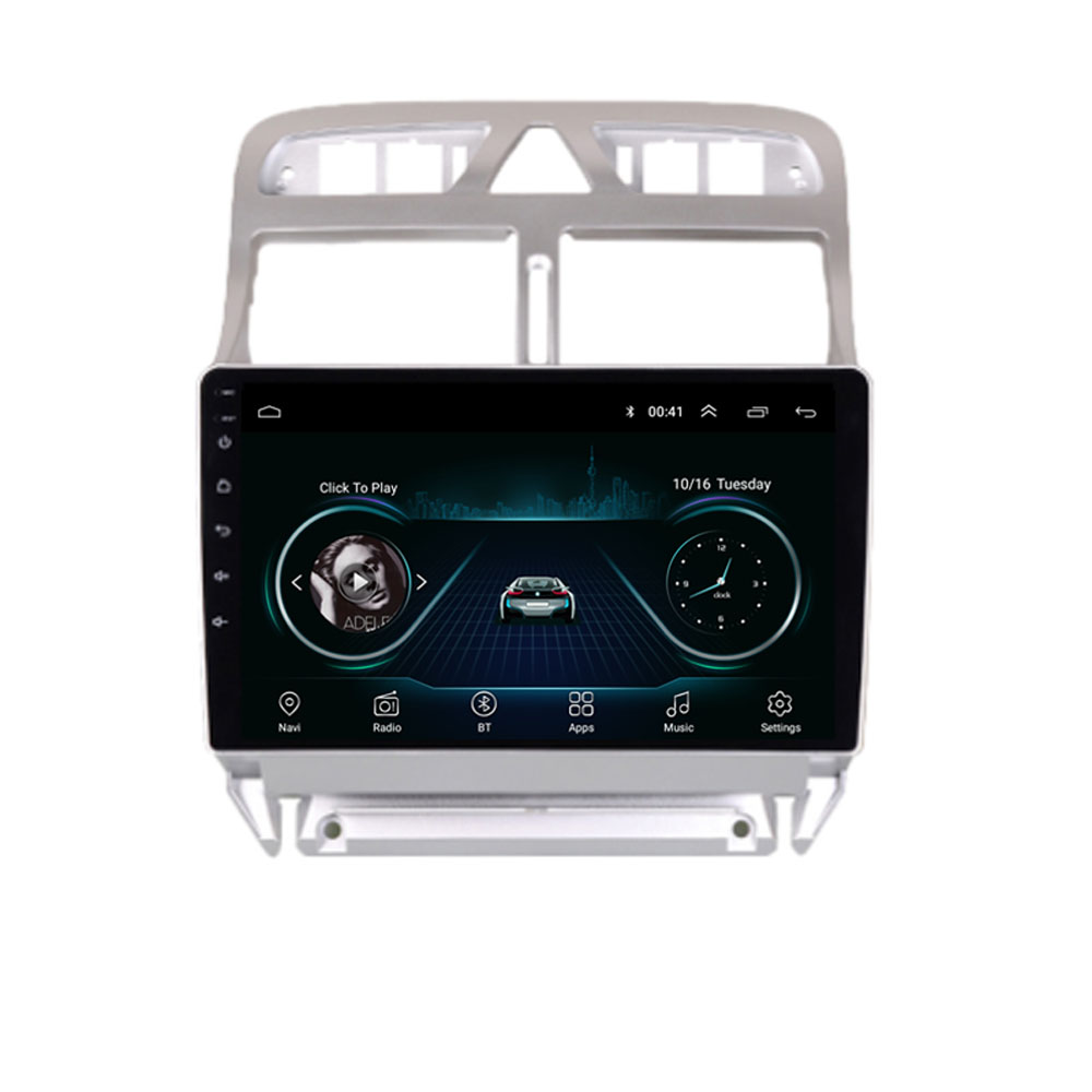 4G LTE Android 8.1 For Peugeot 307 307CC 307SW 2004-2013  Multimedia Stereo Car DVD Player Navigation GPS Radio