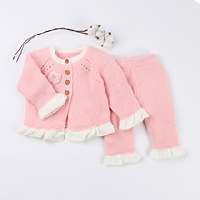 Baby knit suit Knitted autumn Newborn Boys Jumpsuits Clothes winter Long Sleeve Toddler Sweater Children Overall