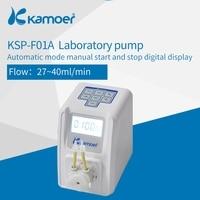 Kamoer KSP F01A Amount Adjustable Peristaltic Pump (LCD, Amount Adjustable, High Precision, Small Peristaltic Pump, Liquid Pump)