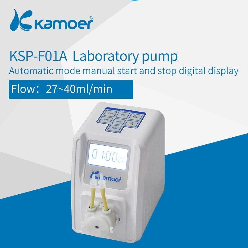 Pompe péristaltique réglable en quantité de KSP-F01A Kamoer (LCD, quantité réglable, haute précision, petite pompe péristaltique, pompe à liquide)