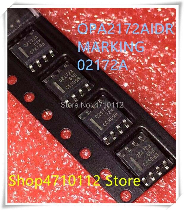 NEW 10PCS OPA2172IDR OPA2172 MARKING 02172A O2172A SOP-8
