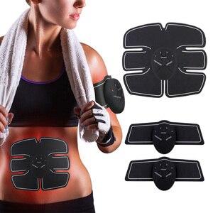 Image 2 - Wireless EMS Trainer abs Muscle Stimulator Myostimulator Body Fitness Electric Weight Loss Body Slimming Massager Belt Body Slim