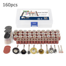 Urijk 160 Pcs Polishing Alat Aksesori Mini Bor Kit Set untuk Grinding Polishing Cutting Pengeboran Alat Abrasif Kit(China)