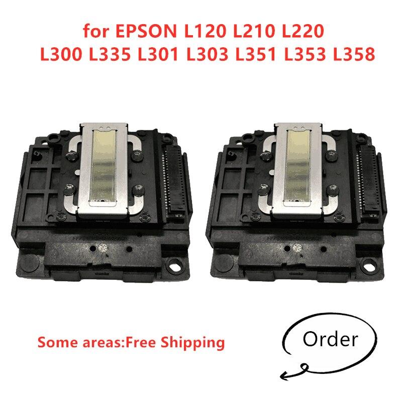 2 قطعة طباعة رئيس لإبسون L120 L210 L220 L300 L335 L301 L303 L351 L353 L358 رأس الطباعة رأس الطباعة