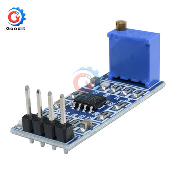 LM358 100 times 100 Gain Signal amplification module operational amplifier module image