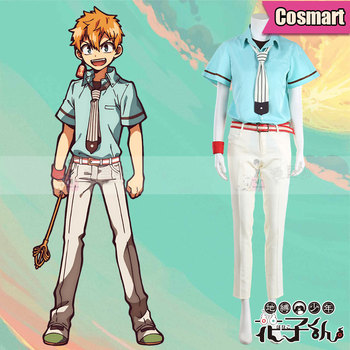 Anime Toilet-Bound Hanako-kun Hanako Kun Minamoto Kou Uniform Cosplay Costume Halloween Outfit For Adult New 2020 1