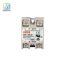 Solid State Relay SSR-60AA SSR-75AA SSR-100AA 60A 75A 100A 80-250V AC TO 24-380V AC SSR 60AA 75AA 100AA
