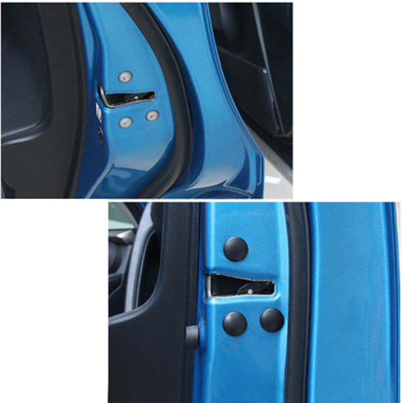 Lsrtw2017 Abs Car Door Edge Screw Cover Anti rush Waterproof Interior Accessories in Interior Mouldings from Automobiles Motorcycles