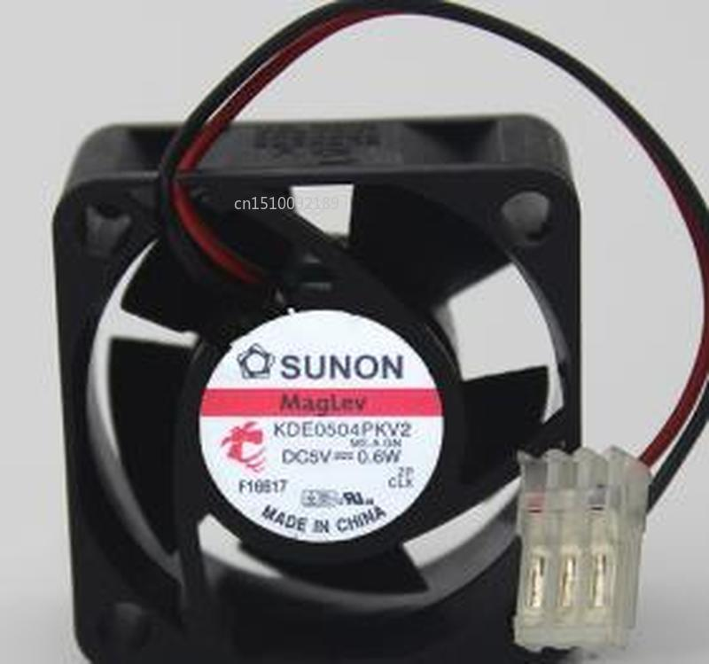 Original For  KDE0504PKV2 MS.A.GN DC 5V 0.6W 40*40*20MM 2-wires Cooling Fan Free Shipping