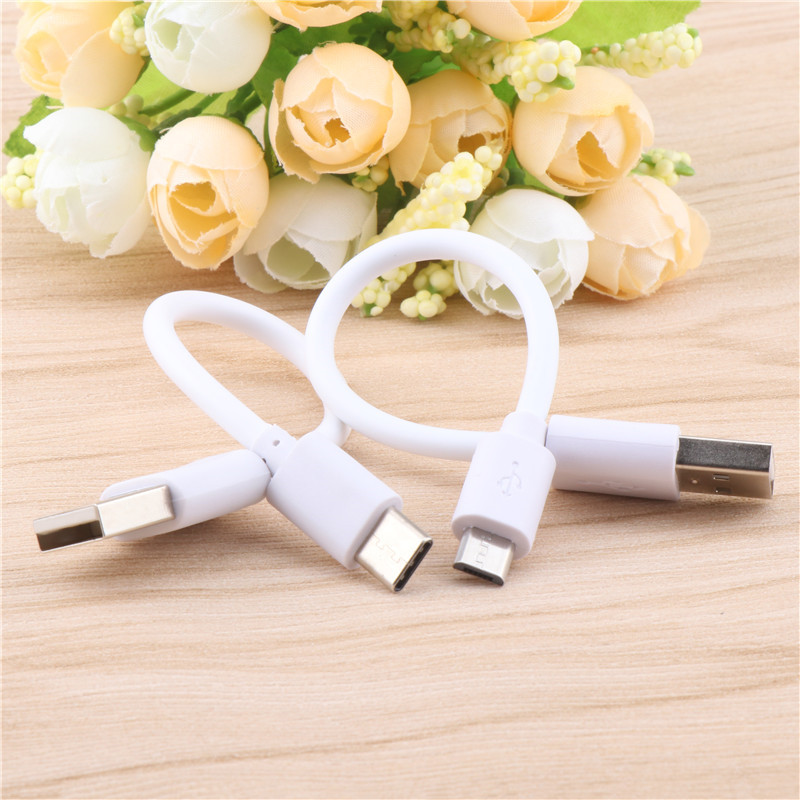 Mini 15cm Short USB Cable  For LG  Android Smart Phone Micro USB Type C Charging Sync Data Cord USB Adapter Cable|Mobile Phone Cables| |  - AliExpress