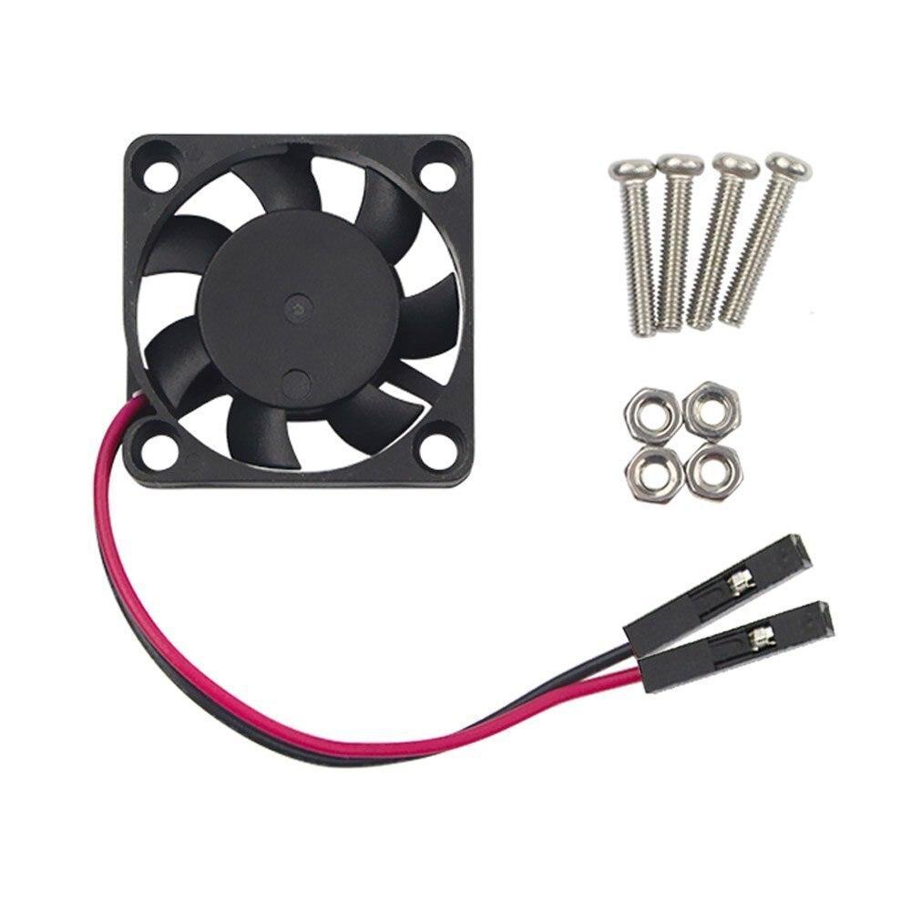 5V / 3.3V Cooling Fan With Screws For Raspberry Pi 3 / Pi 2 Model B RPI B+