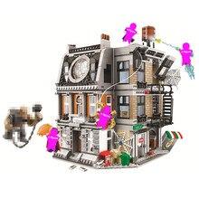 Super Heroes Sanctum Sanctorum Showdow Avengers Infinity War Building Blocks Kit Movie Classic Toys For Children gift Marvel