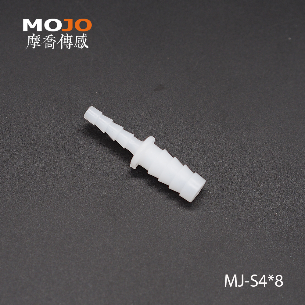 2020 MJ-S4x8(10pcs/lots) Reducing Straight Type Barbed Water Fitting Connectors 4mm To 8mm