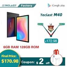 Teclast M40 10,1 дюймов планшетный ПК с системой андроида и 10 Оперативная память 6 ГБ Встроенная память 128 Гб Unisoc T618 Процессор Dual SIM подключается к се...