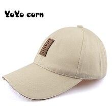 YOYOCORN Baseball Cap Men's Adjustable Cap Casual leisure hats Solid Color Fashion Snapback Summer Fall hat