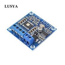 Lusya TPA3116D2 블루투스 디지털 앰프 보드 2*50W 스테레오 클래스 D 듀얼 채널 오디오 앰프 DC 12 24V A4 020