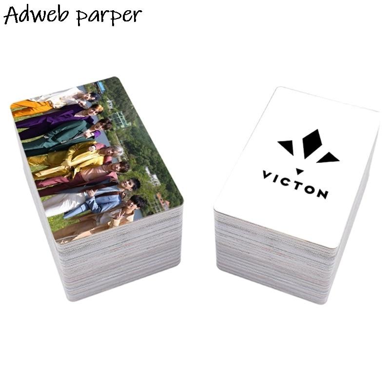 16 шт./компл. KPOP VICTON, новый альбом MAYDAY LOMO Card HD, двухсторонняя автографическая Фотокарта, фотографические карты