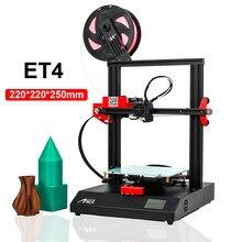 Anet impressora 3d et4 reprap i3 impressora impressora diy primant 3d kit de nivelamento automático retomar impressão suporte open source marlin