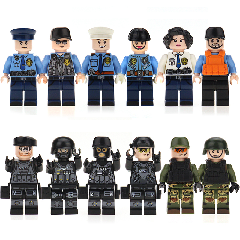 Image 3 - 100pcs/lot Ninjago Marvel Figures Blocks Educational Construction Building Bricks Toys Set For Children Toys-in Blocks from Toys & Hobbies
