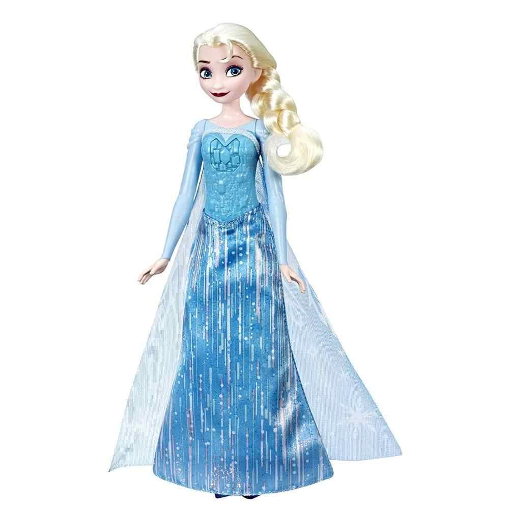 2019 Холодное сердце Эльза и Анна Поющие осветительные куклы королева принцесса Оригинальные фигурки Дисней E3054 детские игрушки для подарки для девочек на день рождения