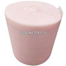 Rouleau à bulles d'air rose clair en forme de cœur, 20cm x 5m, Emballage en mousse pour cadeaux et faveurs de fête, décoration de mariage, Emballage à bulles