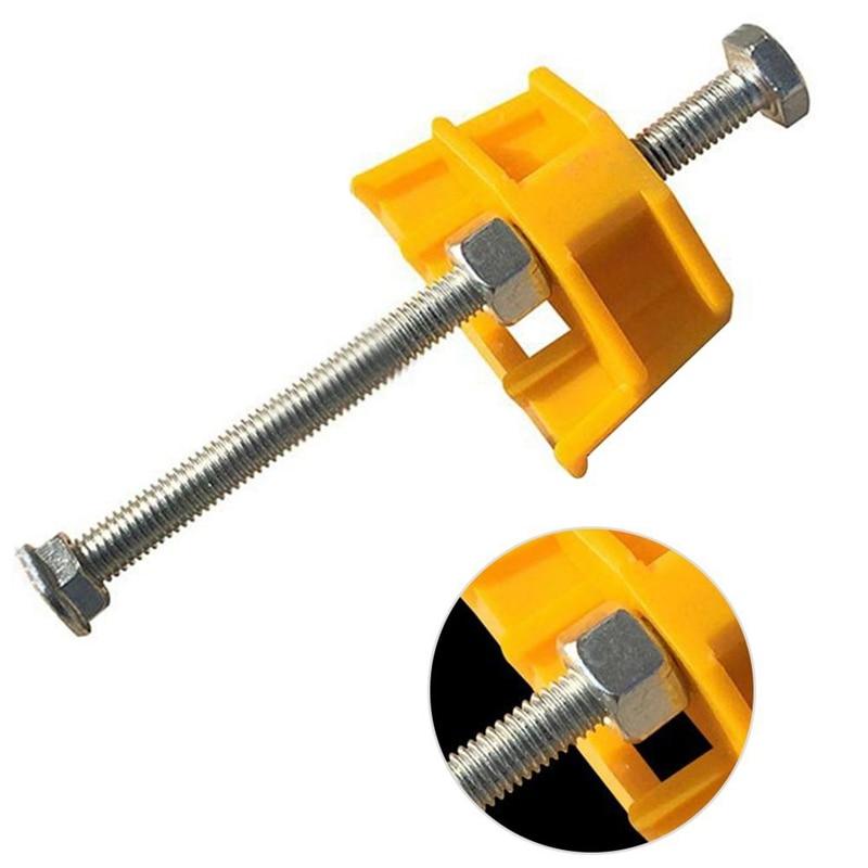 HLZS-Tile Leveling System -10Pcs Tile Leveler Height Adjuster Locator Fine Thread Rising For Tiling Tools