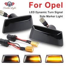 LED Car Side Marker Light Repeater Turn Signal Light for Opel Adam Astra H J Corsa D E Cascada W13 Insignia A Meriva B Zafira B цена 2017