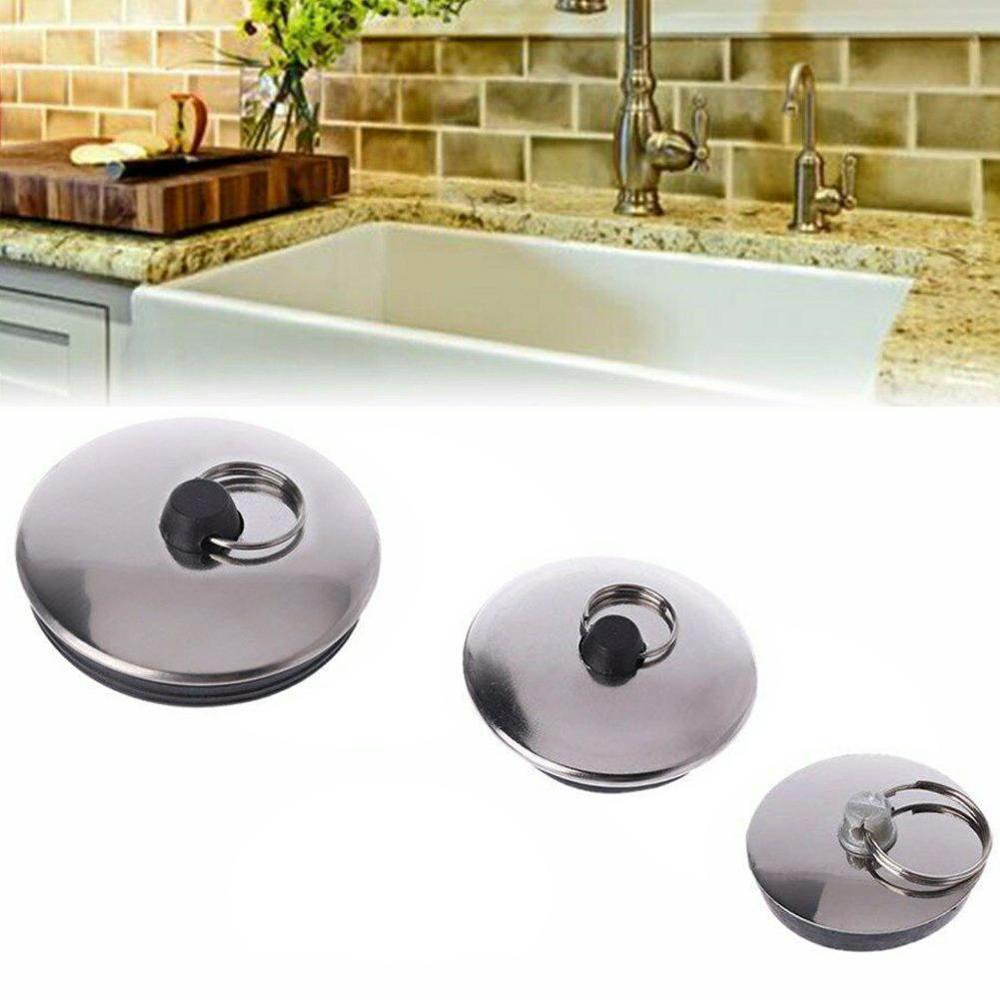 Kitchen Drain Plug Water Stopper Kitchen Bathroom Bath Tub Sink Basin Drainage Bathroom Sink Bathtub Drains Water Plug